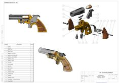 THE SOUTHERN DERRINGER - SOLIDWORKS - 3D CAD model - GrabCAD