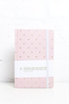Pink & Gold Hardcover A5