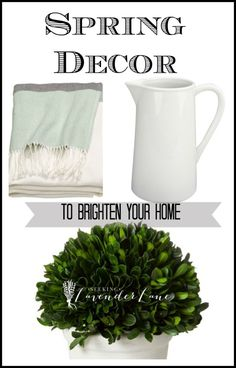 Decor to Brighten Your Home For Spring
