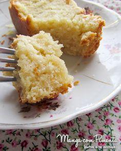 Bolo de Queijo Minas, uma receita de bolo diferente que fará o seu chá da tarde especial. Para ver a receita, clique na imagem.