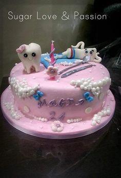 Dental Cake Cake by Sugar Love & Passion