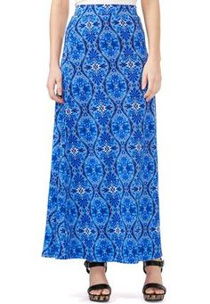 Cato Fashions Floral Scroll Maxi Skirt-Plus #CatoFashions $19.99  Really  Pretty maxi! Just needs side seam pockets. ☺