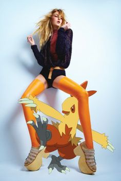 pokemon meets fashion