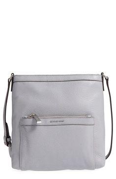 13994e12b927 MICHAEL MICHAEL KORS  Morgan  Leather Messenger Bag.  michaelmichaelkors   bags  shoulder bags  leather  crossbody  lining