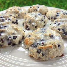 Quick Blueberry Biscuits- my fiancé loves Bo-berry biscuits so I tried this recipe. I really didn't care for it but everyone else in my house loved it!