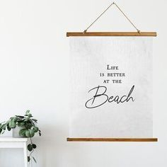 Best coastal wall decor and beach themed wall art for your home. We have some of the absolute best beach style wall decorations including canvas art, wall art, metal art, wooden beach signs, and more. Beach Theme Wall Decor, Beach Wall Decals, Coastal Wall Decor, Wall Decor Design, Beach Wall Art, Metal Wall Decor, Wall Art Designs, Metal Wall Art, Seashell Shadow Boxes