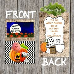 """1966 to 2016. 50 Years since the """"It's The Great Pumpkin Charlie Brown"""" was first shown on TV . www.dotcashop.ca #itsthegreatpumpkincharliebrown  #itsthegreatpumpkin  #charliebrownhalloween  #pumpkinhalloween  #cutehalloween  #halloween2016  #halloween2016  #kidshalloween  #dotcamom"""