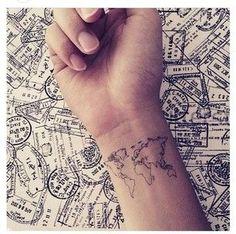 Tiny World Map