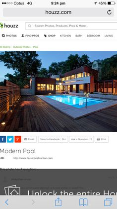 Brick pool lining