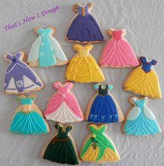 Princess Dress - That's How I Dough - Sweet Creations by Stefanie