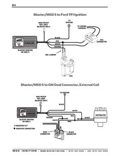Msd 6al Wiring Diagram Ford Awesome In 2020 Ignite Wire Ignition Coil