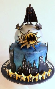 This cake is amazing, but I still like Superman better.