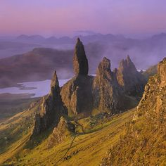Old Man of Storr, Skye. repining because I've walked to the Old Man so this picture made me smile with happy memories.