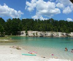 Huntsville, Texas Blue Lagoon