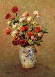 Bouquet of Flowers 1900  Odilon Redon  WikiPaintings