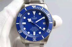Tudor Pelagos V2 Best Edition Blue on Titanium Bracelet A2824