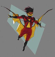 Fantasy Character Design, Character Design Inspiration, Character Art, Marvel Comics Art, Marvel Heroes, Spider Art, Spider Webs, Spiderman Girl, Spider Costume