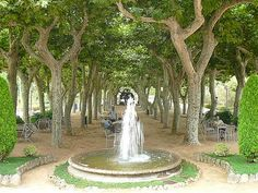Maria Luisa Park, Seville.  Photo by Nancy Todd