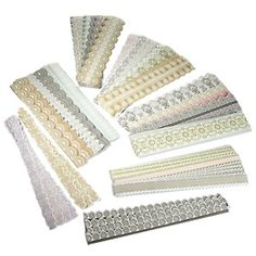 Anna Griffin® Lace Border 96-piece Sticker Kit at HSN.com.