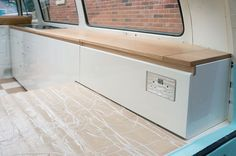 full length vw t2 inerior cupboard