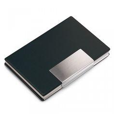Other Frank Metal Business Card Holder Credit Coins Slim Snap Shut Pocket Wallet Id Gift