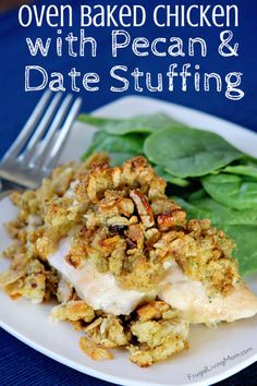 oven baked chicken stuffing