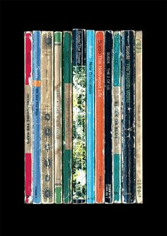 If Suede had written their album Dog Man Star as a series of novels instead of songs, this poster print shows what it might have looked like.