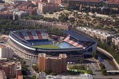 Estadio Vicente Calderón, casa de los actuales campeones de la liga BBVA