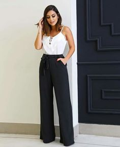 Outfit for the office Smart Casual Wear, Casual Chic, Casual Looks, Semi Formal Outfits For Women, Business Casual Outfits For Women, Lawyer Outfit, Fiesta Outfit, Moda Chic, Girl Fashion