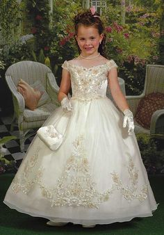 Cupids by Mary's F653 Flower Girl Dress photo