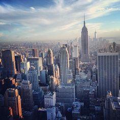 Top of The Rock Observation Deck - Rockefeller Center - New York, NY