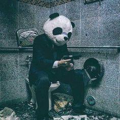 X- anonymous guyfawkes anonghost dp wallpaper onemillionmaskmarch Cool Panda, Panda Love, Tumbrl Boy, Le Joker Batman, Panda Art, Panda Panda, Smoke Photography, Panda Wallpapers, Lion Wallpaper
