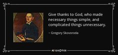 gregory skovoroda quotes - Google Search
