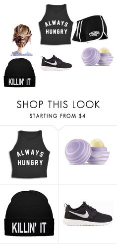 """Killin Da Game"" by arkward-poop on Polyvore featuring Eos and NIKE"