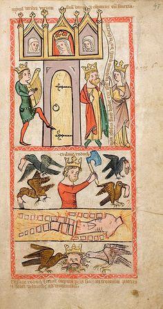 Speculum Humanae Salvationis, Westfalen o Colonia, ca. 1360. ULB Darmstadt, Hs 2505, fol. 47r