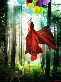 Little Red - The Escape by Anne-Wipf.deviantart.com on @deviantART