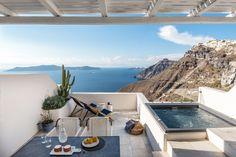 Interior Design Laboratorium has recently refurbished Porto Fira Suites, designed to capture the silent mystique and energy of Santorini.