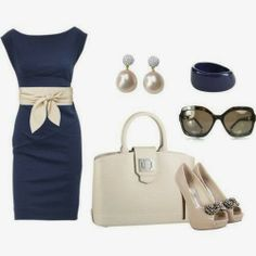 Lucy May's Fashion Blog: BLUE AND WHITE ELEGANT SET !!! WOULD YOU LIKE TO W...