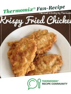 Thermomix Recipe -- KFC Krispy Fried Chicken by theroadtolovingmythermomix - Recipe of category Main dishes - meat Fried Chicken Coating, Crispy Fried Chicken, Baked Chicken, Meat Recipes, Chicken Recipes, Cooking Recipes, Chicken Spices, Dinner Recipes, Dinner Ideas