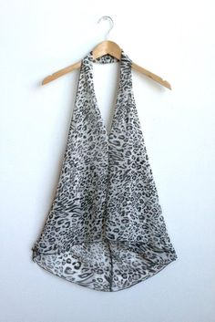 Also comes in another animal print! Going Out, Chiffon, Culture, Printed, Animal, Summer, How To Wear, Fashion, Summer Time