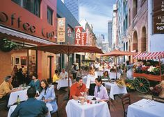 Al Fresco Dining is favoured option in Melbourne
