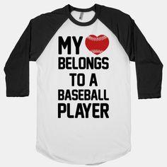My Heart Belongs to a Baseball Player - for my boy