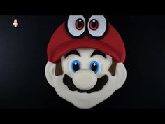 Super Mario Odyssey Cappy Cake Tutorial! - YouTube