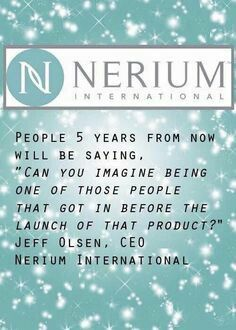 Now's the time! We just launched our new wellness line. cindyfillmore.nerium.com