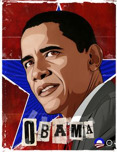 Vote Obama by Erik Ries, via Behance