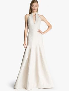 Halston Wedding Dress | Bridal Musings Wedding Blog