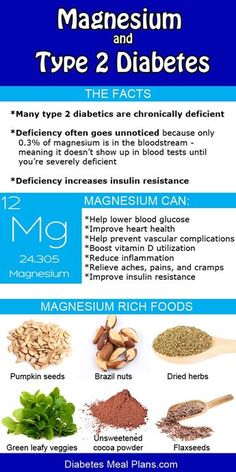 In type 2 diabetes magnesium can be a chronic hidden deficiency. Find out more and supplement if needed.