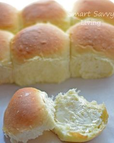 Love fresh bread but don't think you can make it at home? It's super easy with this Homemade Yeast Rolls or Bread Recipe!
