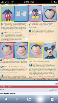 Mickey Mouse tutorial page 2