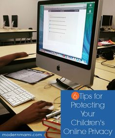 Raising kids in a digital world can be complicated. Here are 6 tips for protecting your children's online safety and privacy - all from the personal experience of a blogging mom!
